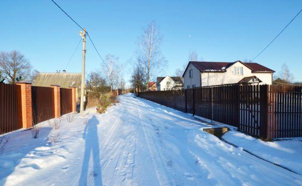 Участок 24 сотки в д.Большое Никольское Волоколамского района